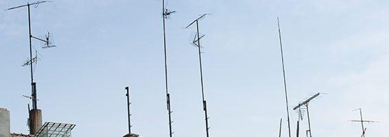 antenas tejado dividendo digital