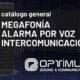 optimus home megafonia